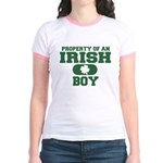 Property of an Irish Boy Jr. Ringer T-Shirt
