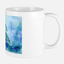 Whimzical Danube Dolphins Small Small Mug