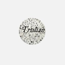 Tristian, Matrix, Abstract Art Mini Button