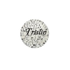 Tristin, Matrix, Abstract Art Mini Button
