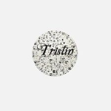 Tristin, Matrix, Abstract Art Mini Button