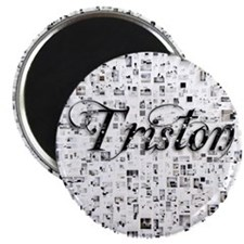 Triston, Matrix, Abstract Art Magnet