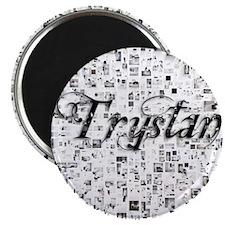 Trystan, Matrix, Abstract Art Magnet