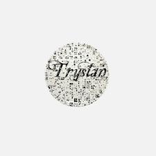 Trystan, Matrix, Abstract Art Mini Button