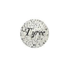 Tyree, Matrix, Abstract Art Mini Button