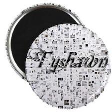 Tyshawn, Matrix, Abstract Art Magnet