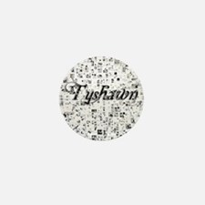 Tyshawn, Matrix, Abstract Art Mini Button