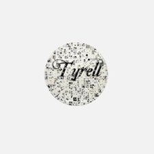Tyrell, Matrix, Abstract Art Mini Button