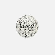 Umar, Matrix, Abstract Art Mini Button