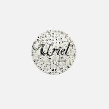 Uriel, Matrix, Abstract Art Mini Button