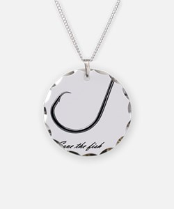 Save the fish Necklace