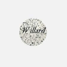 Willard, Matrix, Abstract Art Mini Button