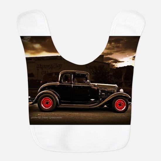 1932 black ford 5 window Bib