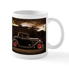 1932 black ford 5 window Mugs