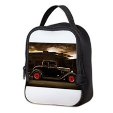 1932 black ford 5 window Neoprene Lunch Bag