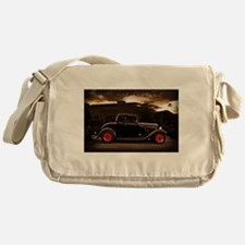 1932 black ford 5 window Messenger Bag