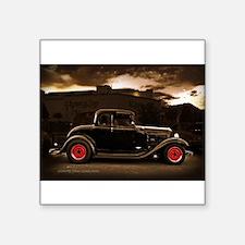 1932 black ford 5 window Sticker