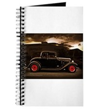 1932 black ford 5 window Journal