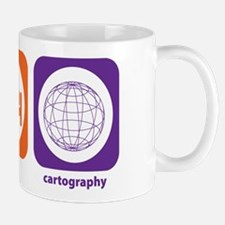 Eat Sleep Cartography Mug