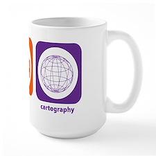 Eat Sleep Cartography Mug