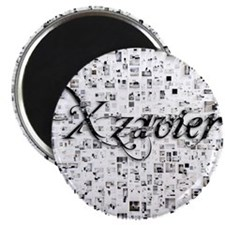 Xzavier, Matrix, Abstract Art Magnet