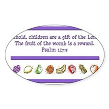 Psalm 127:3 Decal
