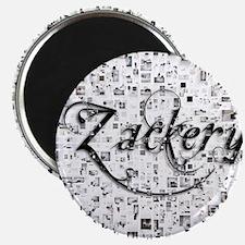 Zackery, Matrix, Abstract Art Magnet