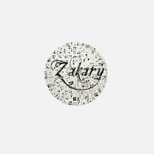Zakary, Matrix, Abstract Art Mini Button