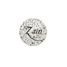 Zain, Matrix, Abstract Art Mini Button