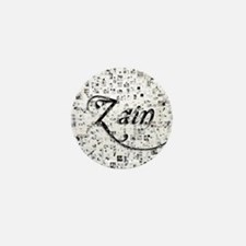 Zain, Matrix, Abstract Art Mini Button