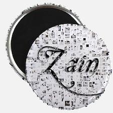 Zain, Matrix, Abstract Art Magnet