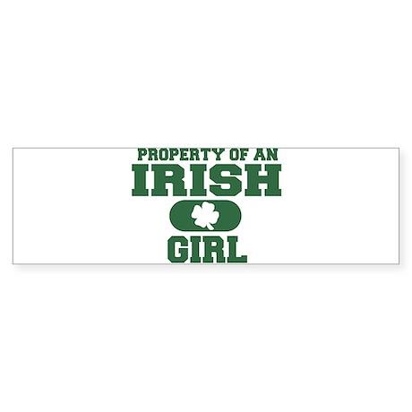 Property of an Irish Girl Bumper Sticker