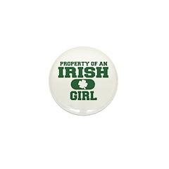 Property of an Irish Girl Mini Button (10 pack)