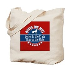 Mutts for Mitt Tote Bag