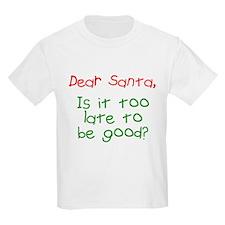 Dear Santa Too Late? T-Shirt