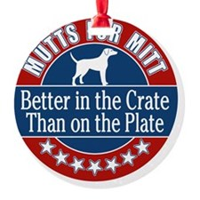 Mutts for Mitt Ornament