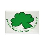 Feliz San Patricio Rectangle Magnet (100 pack)