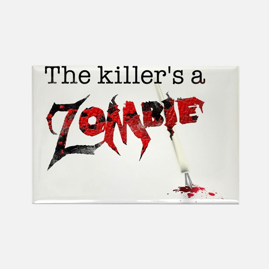 The killers a zombie Rectangle Magnet