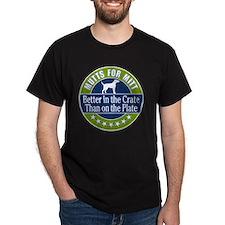 Mutts for Mitt T-Shirt