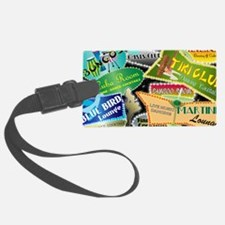 RETRO NIGHT CLUB NEON Luggage Tag