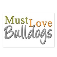 mustlovebulldogs Postcards (Package of 8)