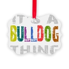 bulldogthing_black Ornament