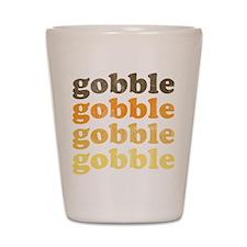 Thanksgiving Retro Shot Glass