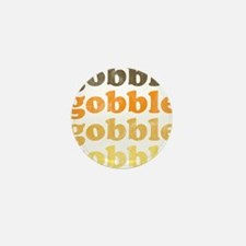 Thanksgiving Retro Mini Button