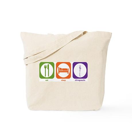 Eat Sleep Chiropractic Tote Bag
