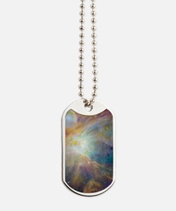 Clouds of Space Gas Dog Tags