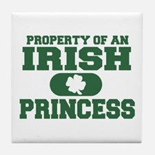 Property of an Irish Princess Tile Coaster