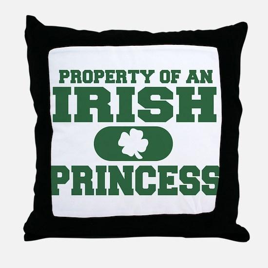 Property of an Irish Princess Throw Pillow