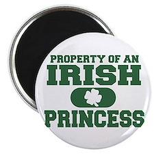 """Property of an Irish Princess 2.25"""" Magnet (10 pac"""