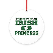 Property of an Irish Princess Ornament (Round)